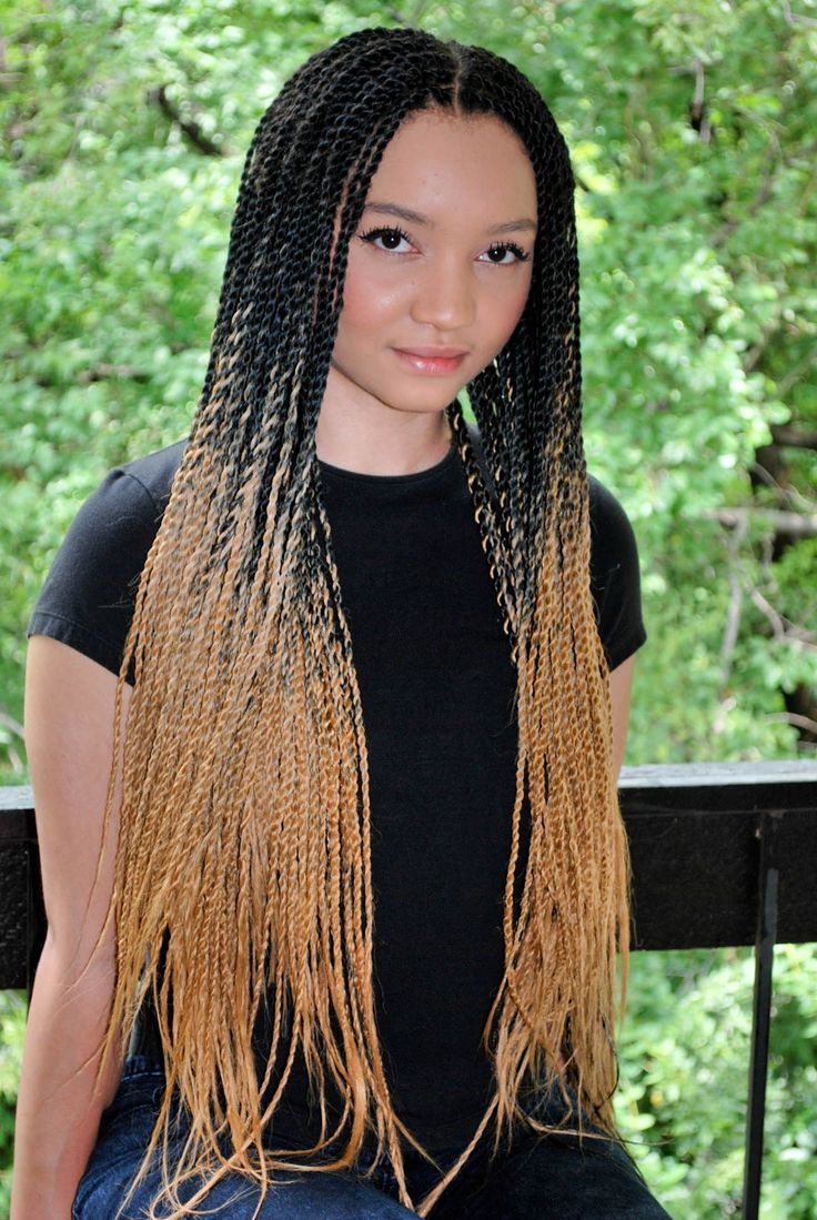 result box braids white