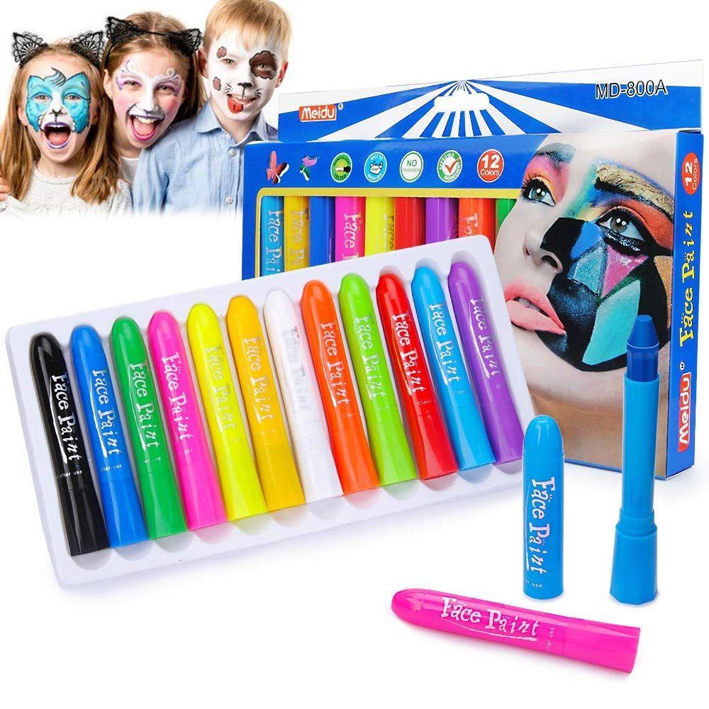 Unique Results Makeup Face Paint Crayons Kids Face