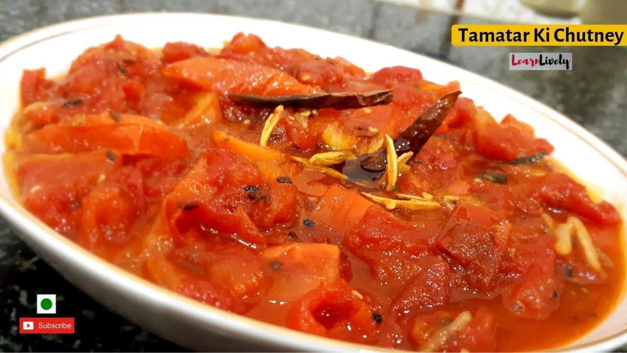 Learn how to make this awesome tomato chutney in minutes