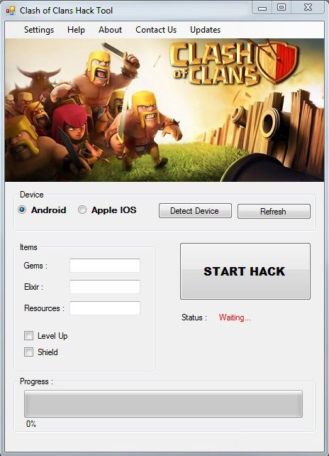 clash of clans generator download android