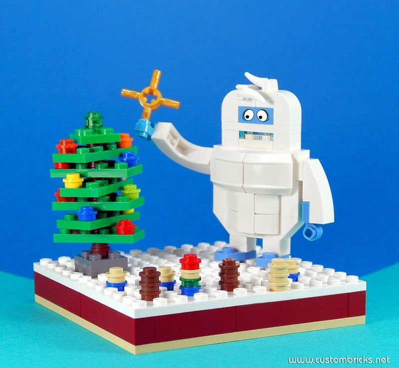 lego xmas countdown mocs day 20 a humble bumble brick. Black Bedroom Furniture Sets. Home Design Ideas