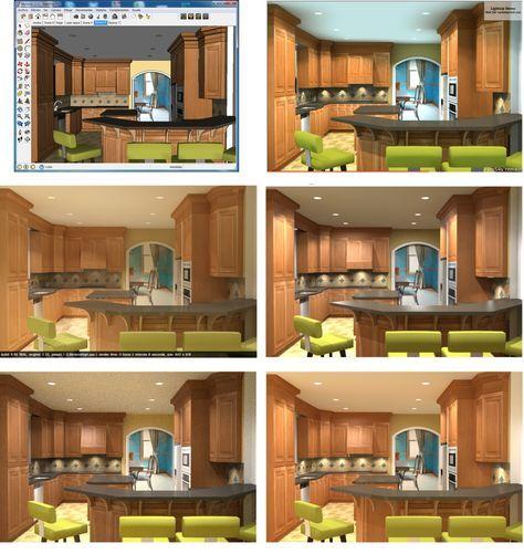 Sketchup Home Design: Sketchup For Interior Design