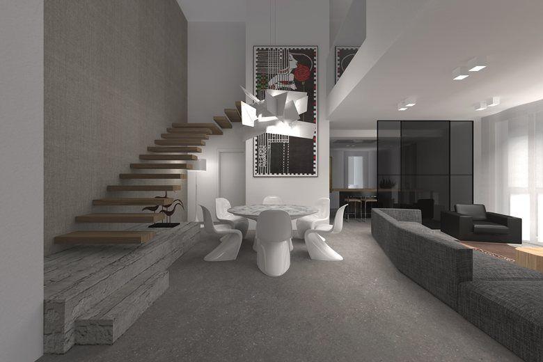 Appartamento con doppia altezza, Rubano, 2014 - Filippo Carraro