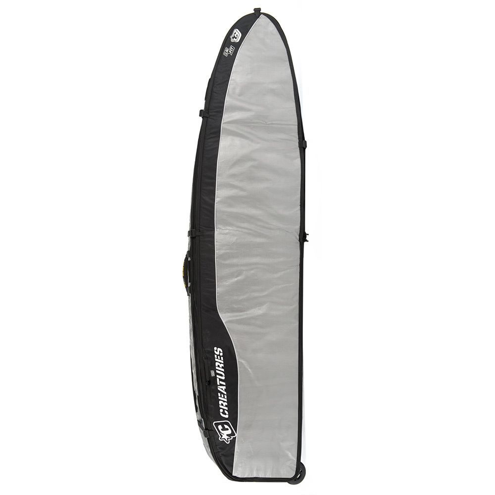 "Surfing Hardware - Creatures 6'7"" Multi-Wheely 2-4 Board Bag, £229.95 (http://www.surfinghardware.co.uk/surfing/board-bags-socks/all-boardbags/creatures-67-multi-wheely-2-4-board-bag/)"
