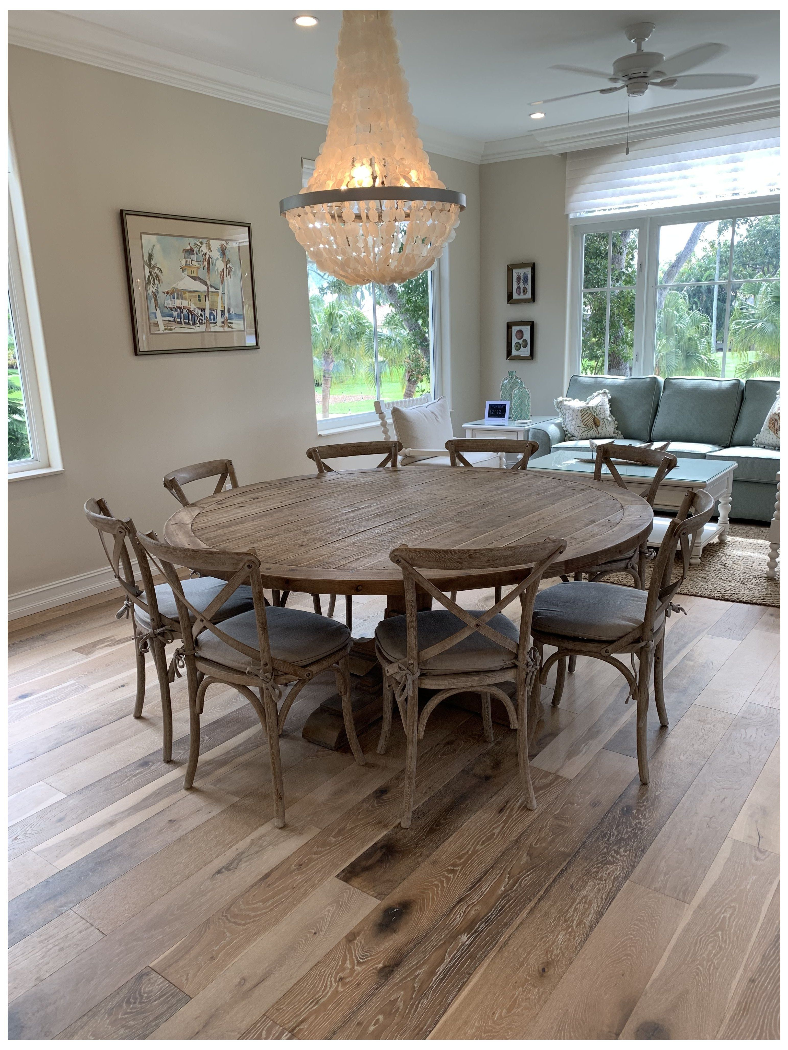 Dining Table Set For 8 Round Diningtablesetfor8round In 2021 Round Dining Room Table Round Wooden Dining Table Round Dining Room Round wooden tables and chairs