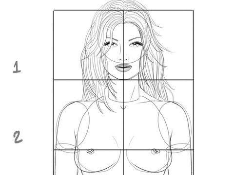Très Comment dessiner un corps féminin : les proportions de base  NS31