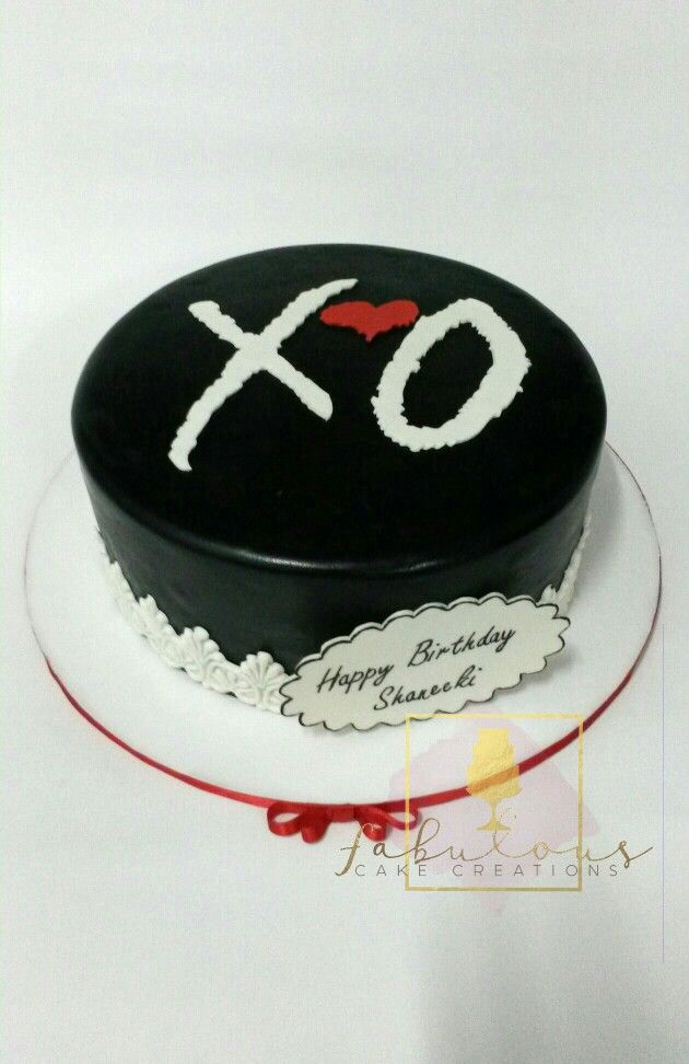 The Weeknd Fabulous Cake Creations The Weeknd Birthday