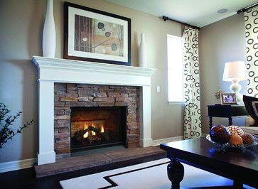 Gas Fireplaces Contemporary Fireplaces Sacramento Rustic