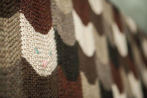 Ravelry Kitties In My Lap Blanket Pattern By Magda Stryk Therrien