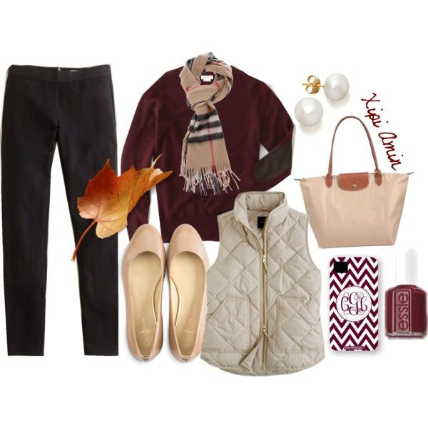 """""""Burberry, Elbow Patches, & Maroon."""""""