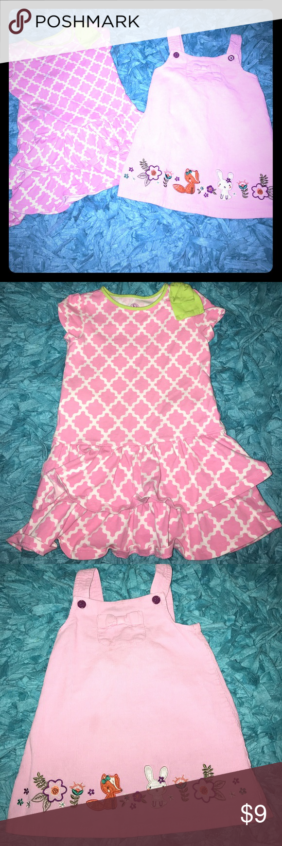 Toddler Girls Pink Dress Bundle 3t 4t Girls Pink Dress Toddler Girl Dresses Pink Girl [ 1740 x 580 Pixel ]
