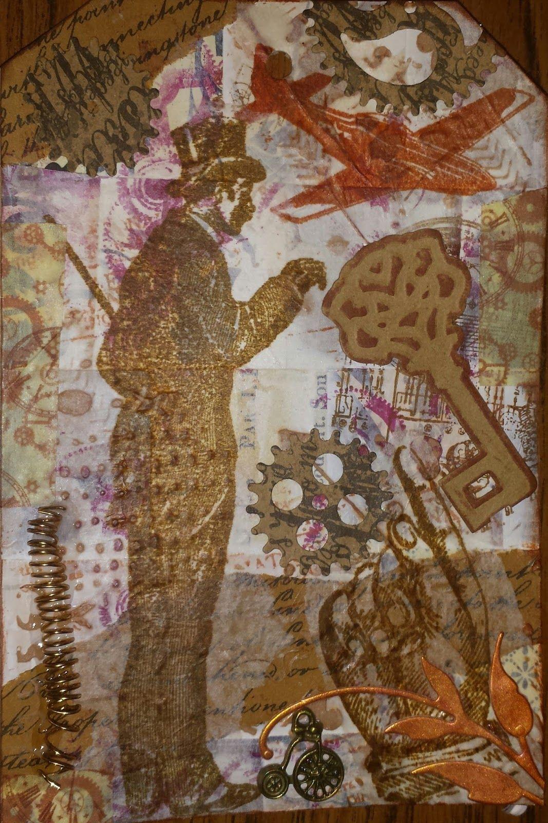 Mirella Crafts: Steampunk Tag