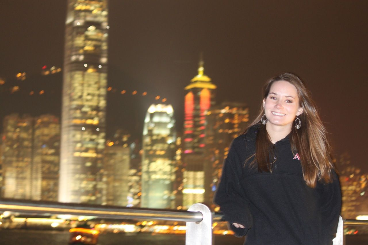 Hong kong lights hong kong hong kong