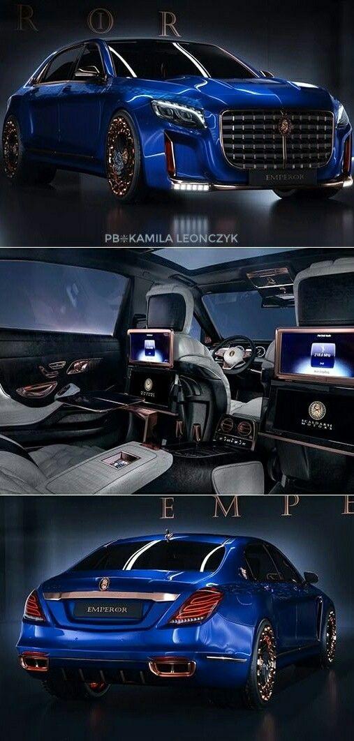 mercedes-maybach s600 $1.5 million the scaldarsi emperor i | car box