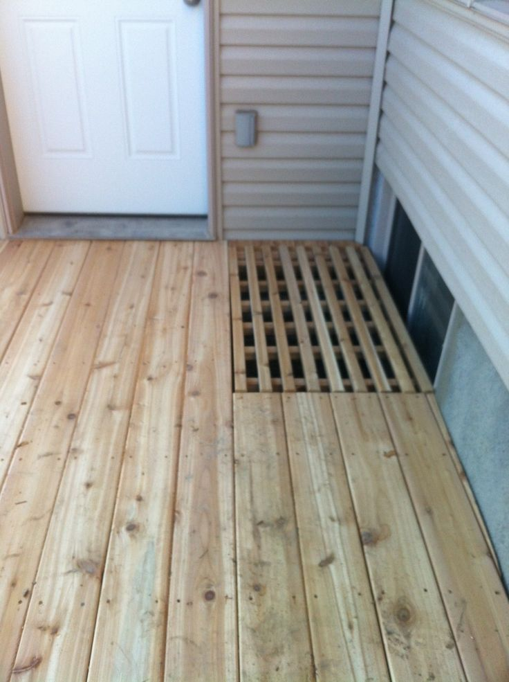 Deck Solutions For Window Wells Google Search Backyard