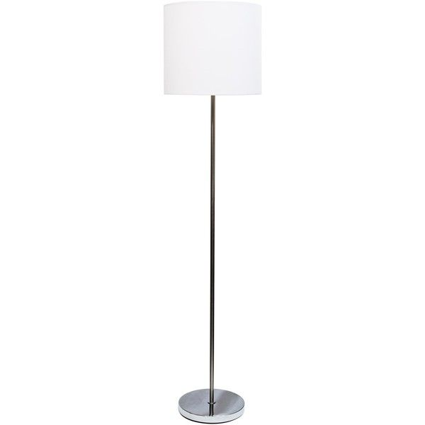 Analisa brushed nickel floor lamp 50 ❤ liked on polyvore featuring home lighting