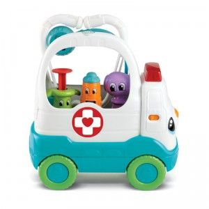 The Mobile Med Kit from LeapFrog highlights one play pattern that will never cease to entertain kids: playing doctor.