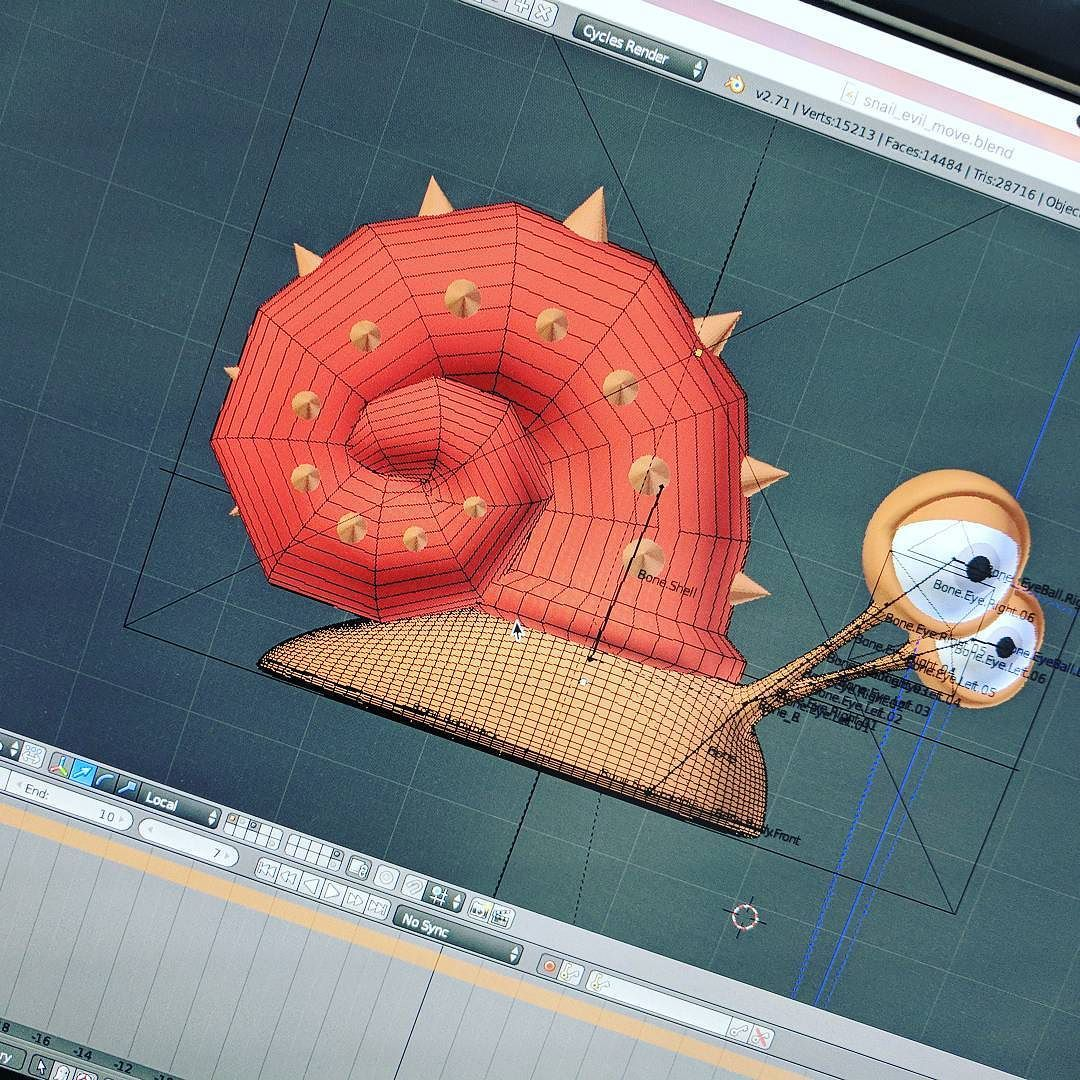 Making off Evil Snail !snailsagainstgravity game coming
