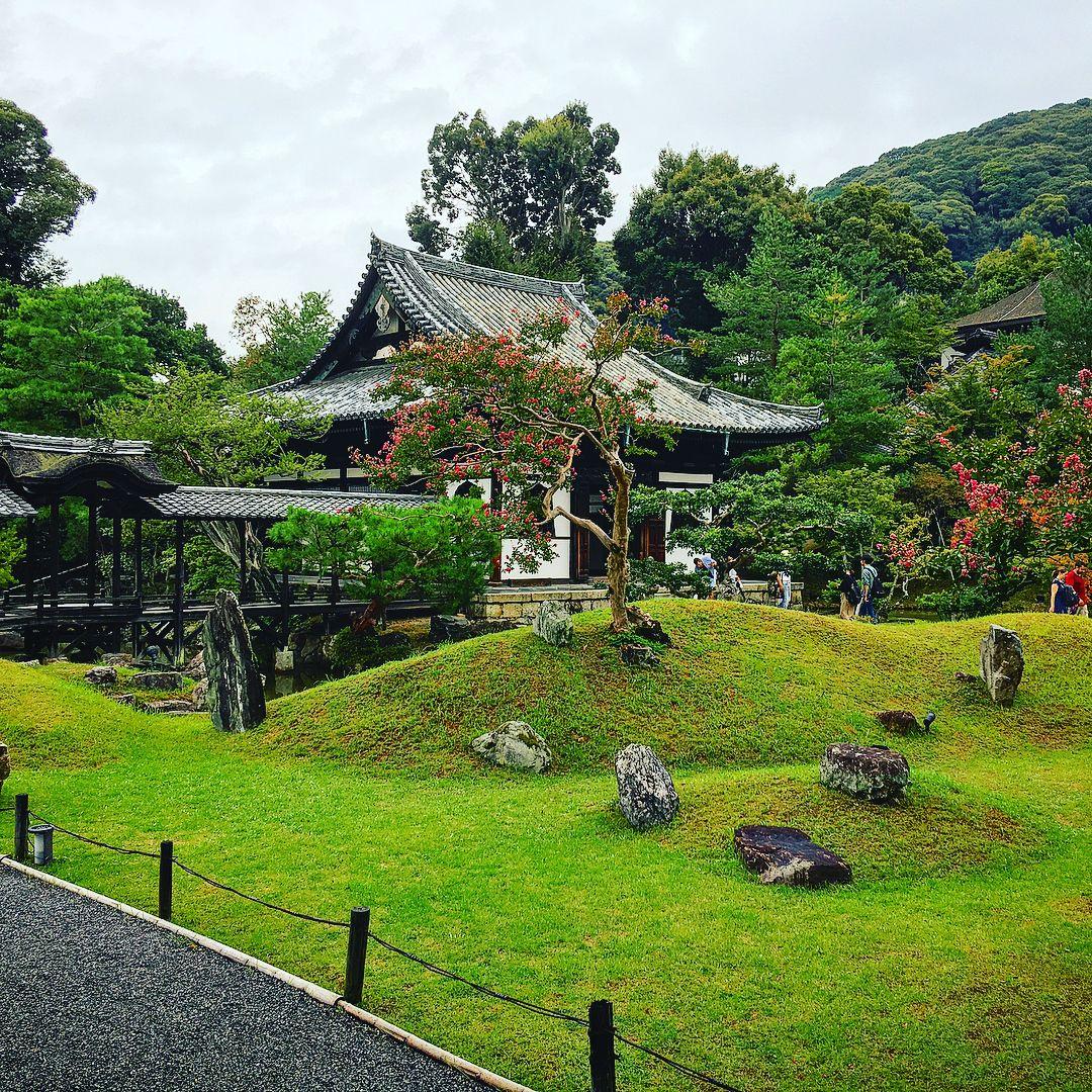 Zen Rock Garden, Temple, Temples, Buddhist Temple