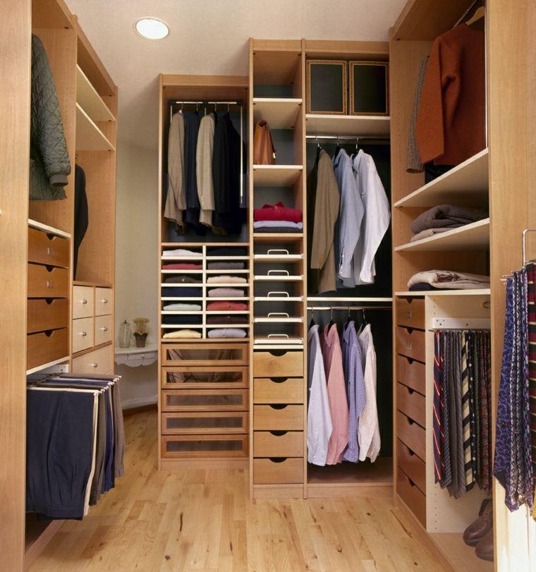 Favori Idée dressing : 45 idées d'aménagement et de rangement | Idée  YU89