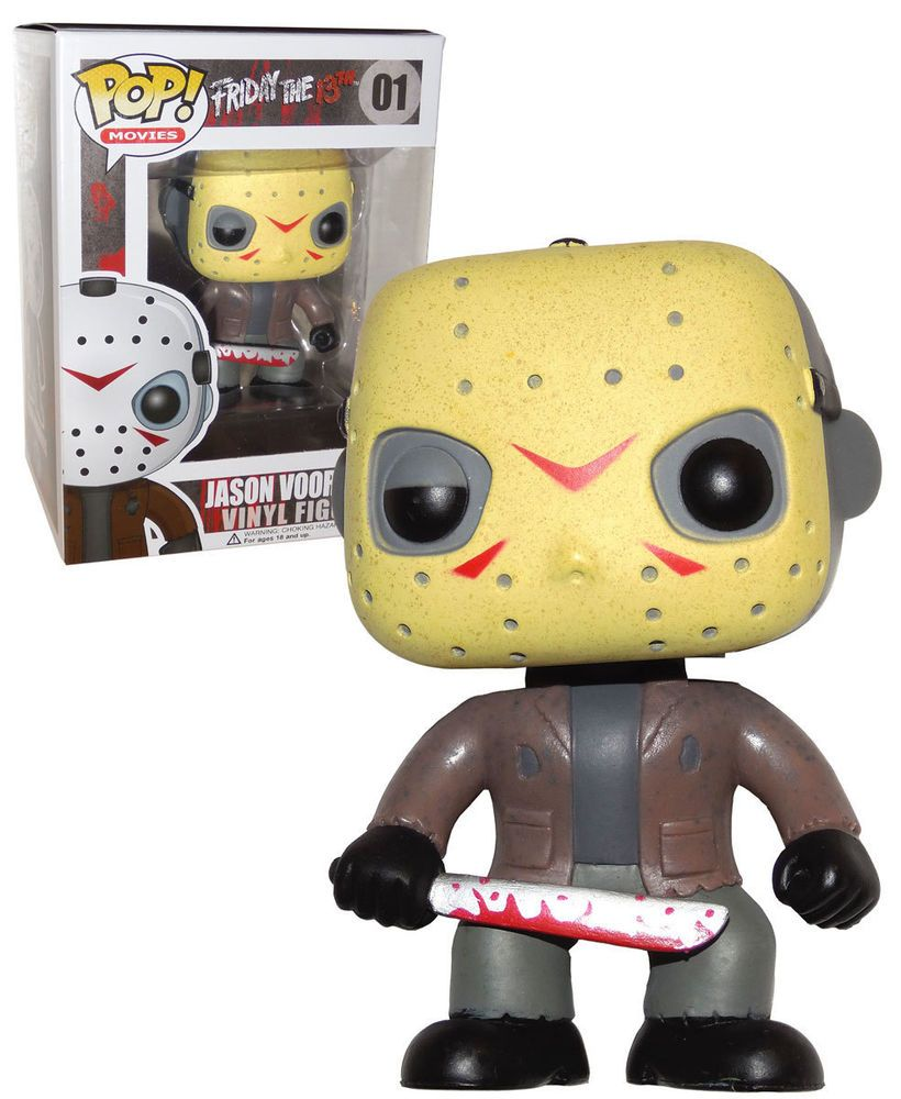 FUNKO POP JASON VOORHEES 01 FRIDAY THE 13TH