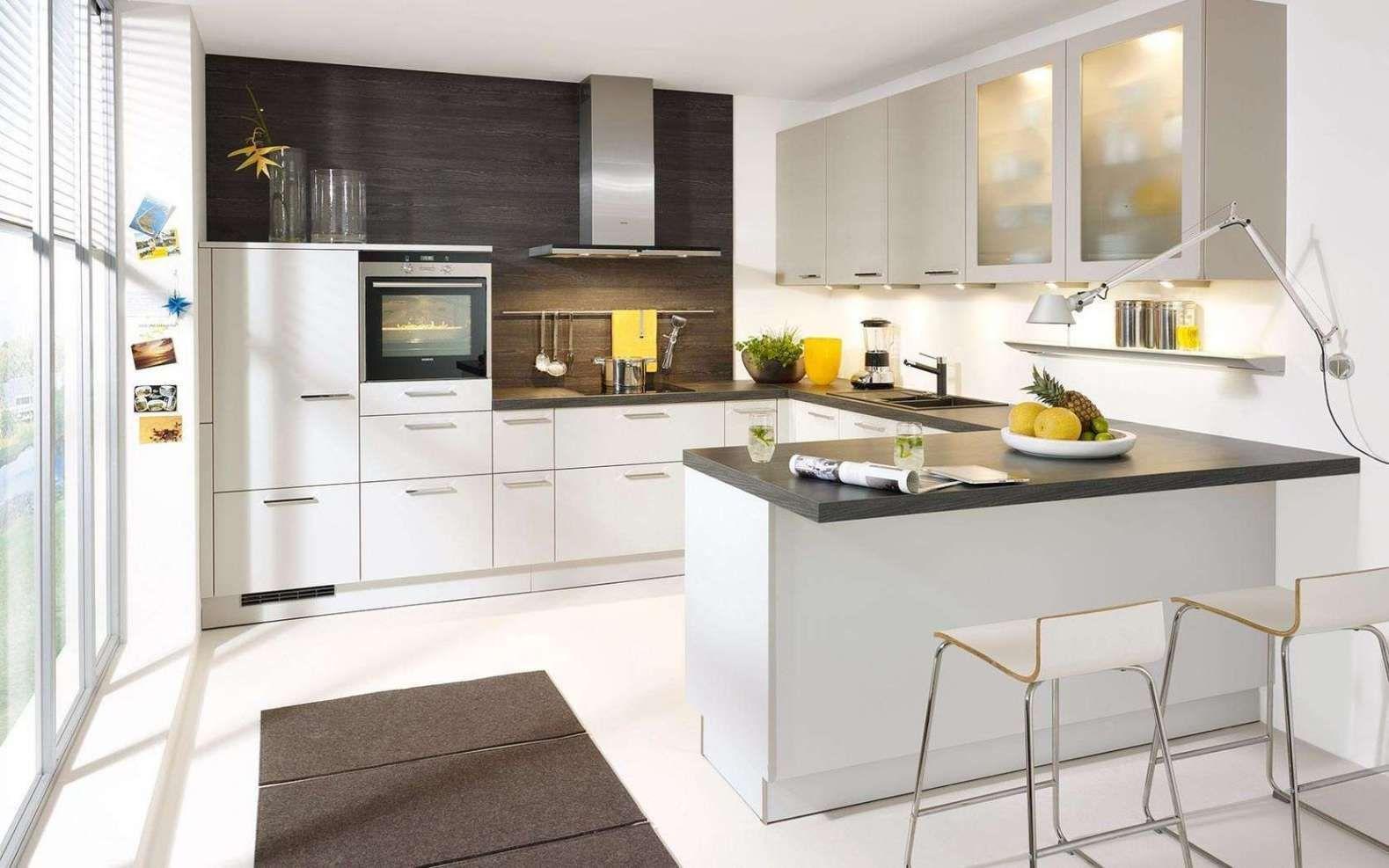 Mehr 6 Fantastisch Kleine Küche UForm Mit Theke Tisch