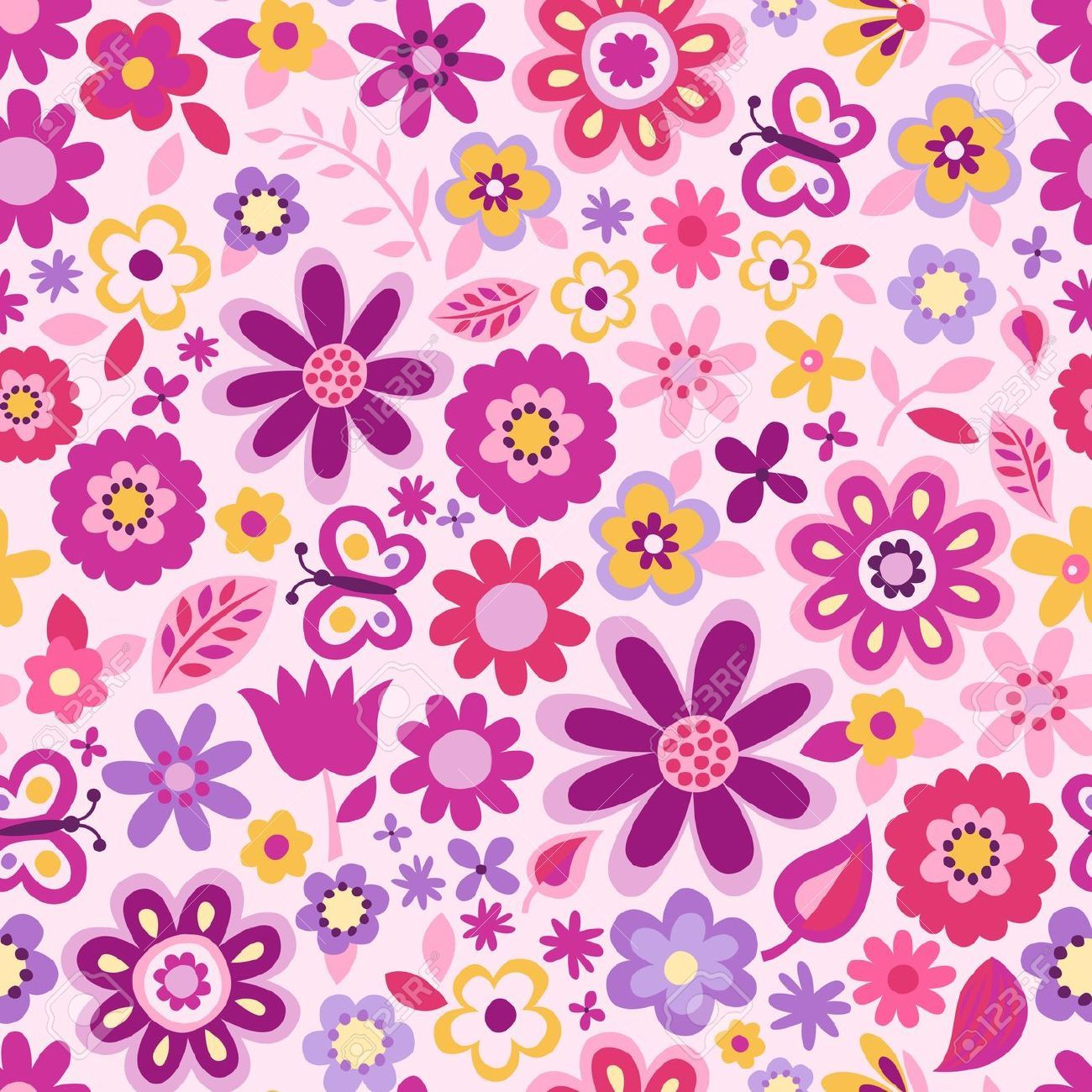 undefined Cute Pattern Wallpaper (35 Wallpapers ...