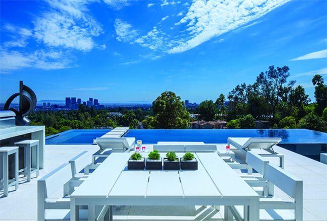 Luxus Villa Designer Haus Beverly Hills