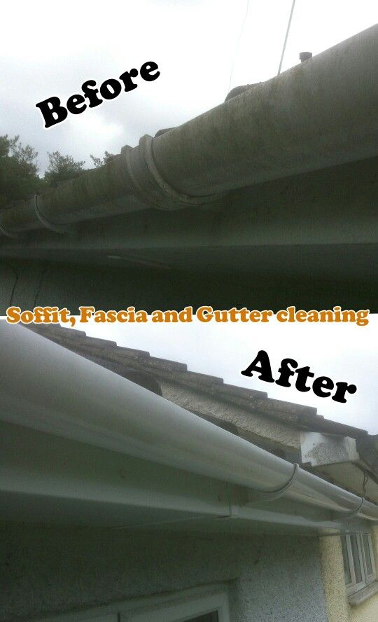Soffit Fascia And Gutter Cleaning Cleaning Gutters Gutter Fascia