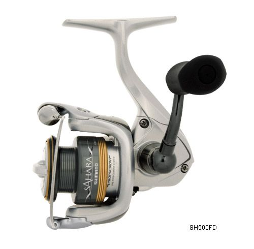 b0cc0a98c36 Shimano Sahara FD Spinning Reels Packed with features, the Sahara is a  solid performer for any freshwater or light saltwater use. The 1500 and 2500  are ...