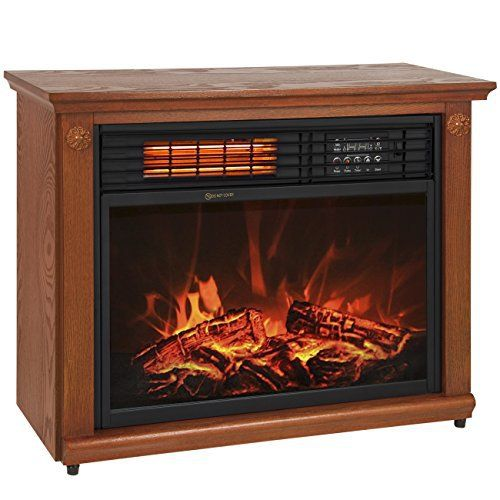 best electric fireplace heater reviews best choice products large rh pinterest com duraflame infrared fireplace heater reviews