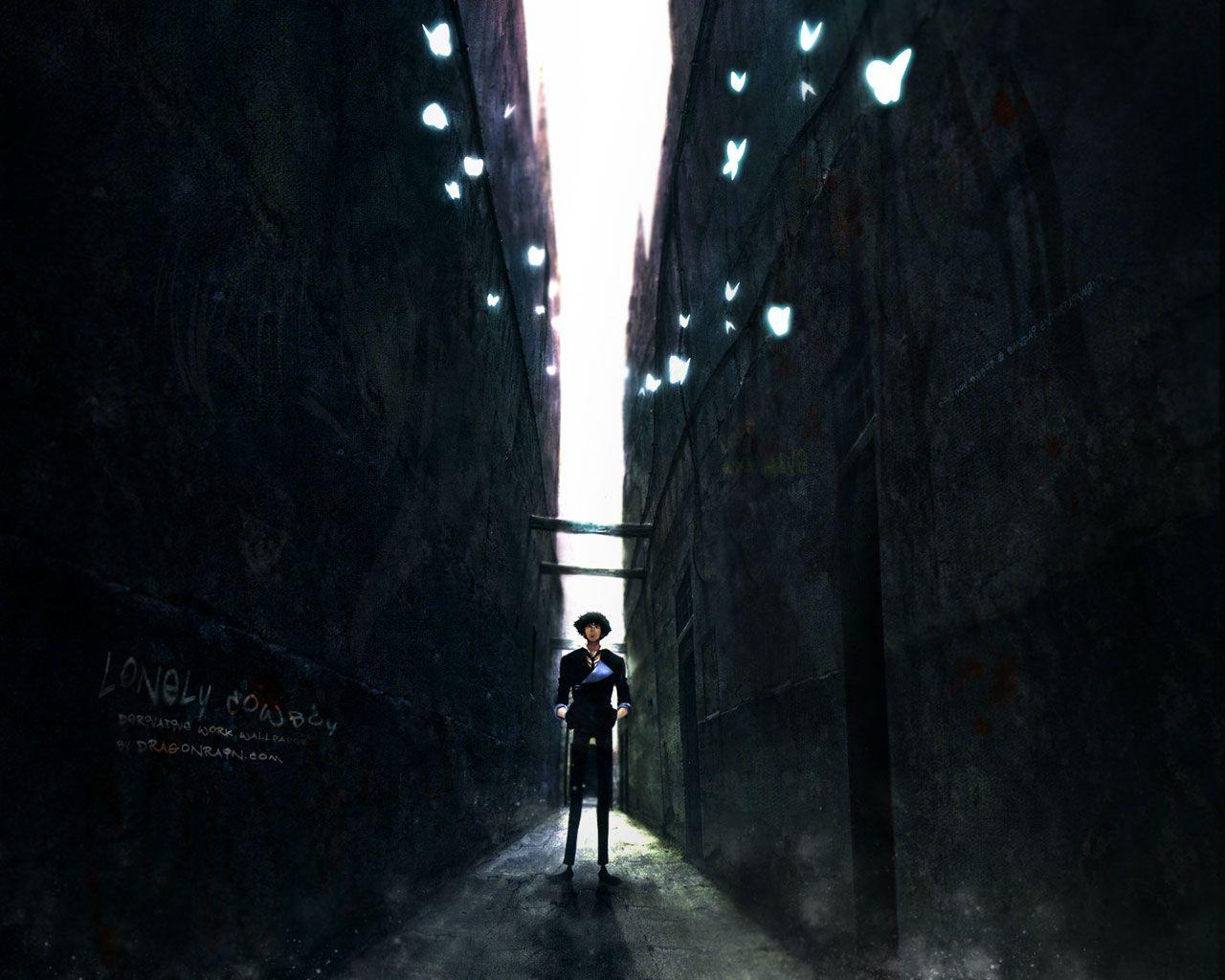 Cowboy Bebop Wallpaper: Dark Alleyway