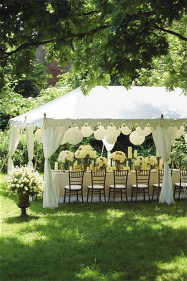 22 Outdoor Wedding Tent Decoration Ideas Every Bride Will ...