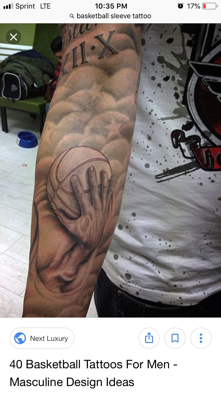 Pin by Rich Guillen on Tattoos Basketball tattoos