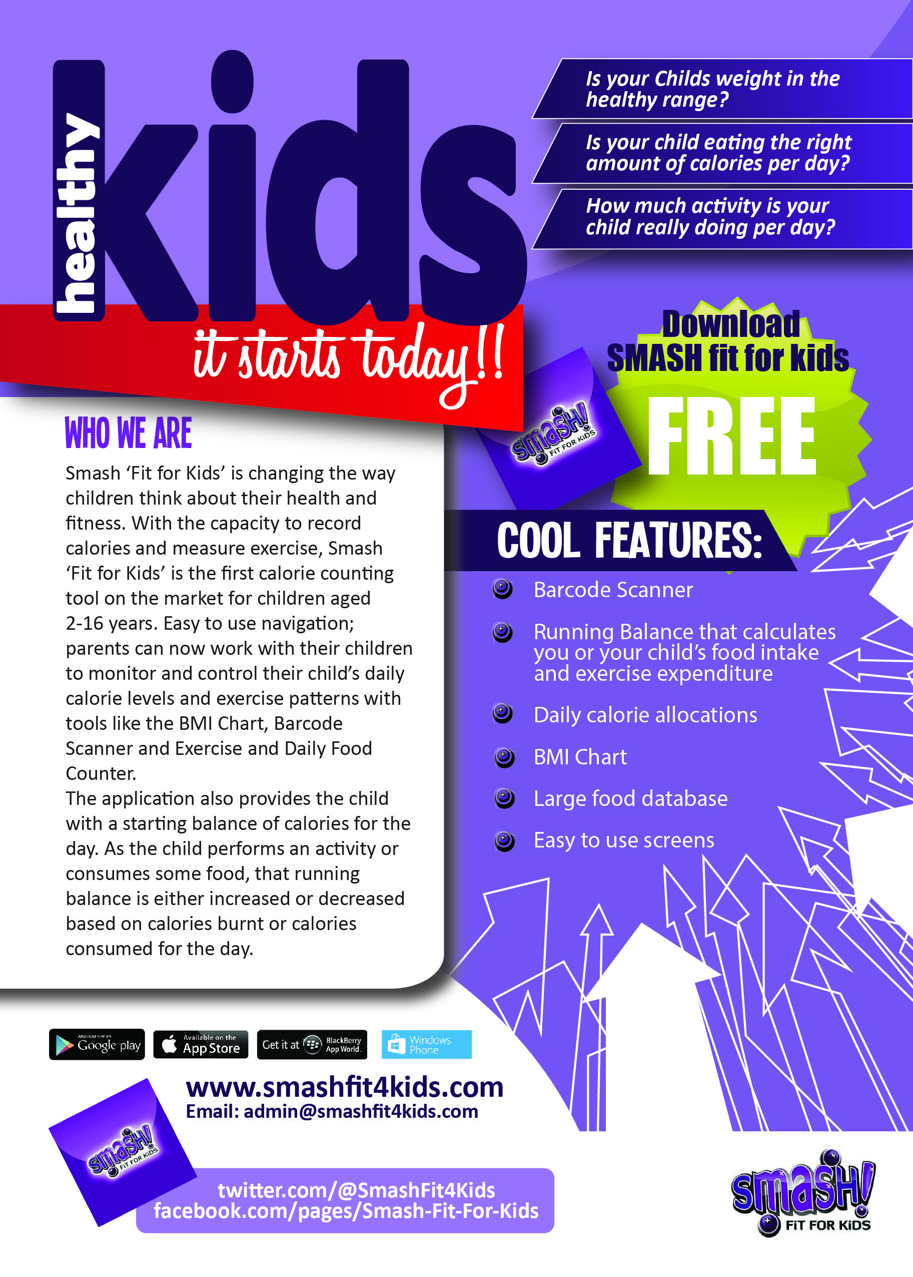 Smash fit for kids is changing the way children think about smash fit for kids is changing the way children think about their health and nvjuhfo Gallery