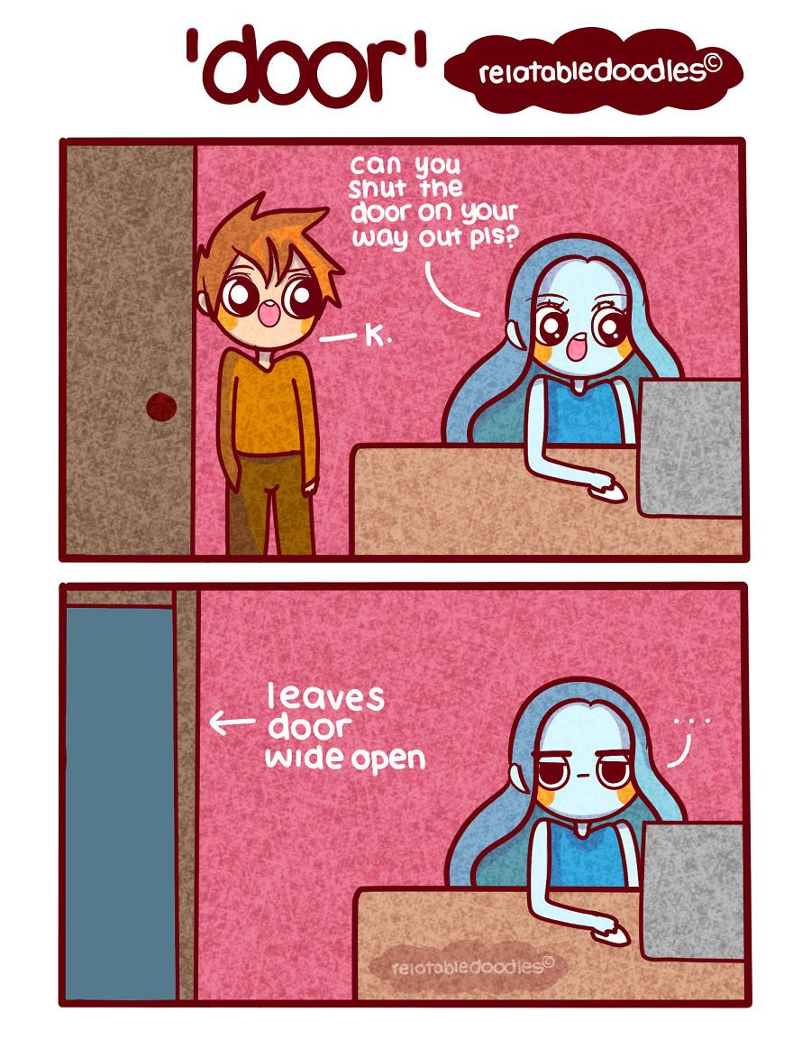 I Draw Comics That People Can Relate To Part 2 Funny Relatable Memes Comics Funny
