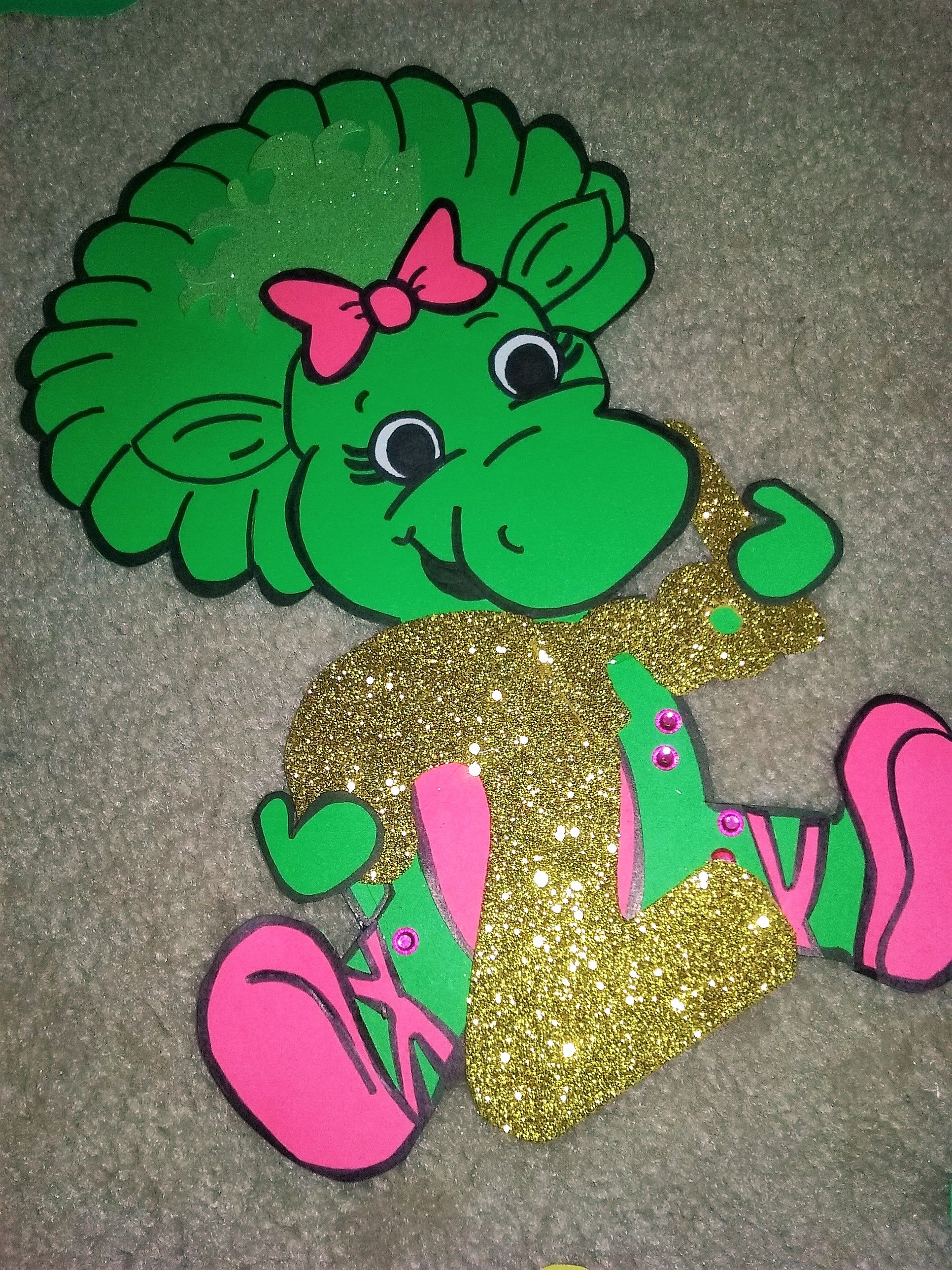 RESERVED for diamondwaldron - Barney Theme Birthday Party Treat ...