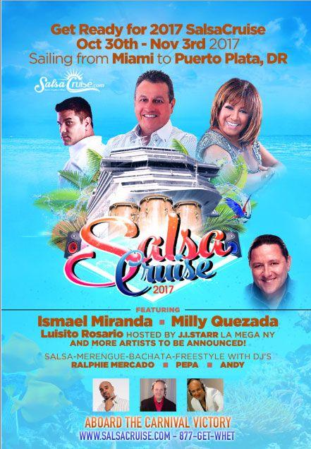 30 Oct 2017 Carnival Victory 4 Night Salsa Cruise Ex Miami Florida Http Www Salsacruise Com Carnival Victory Cruise Salsa