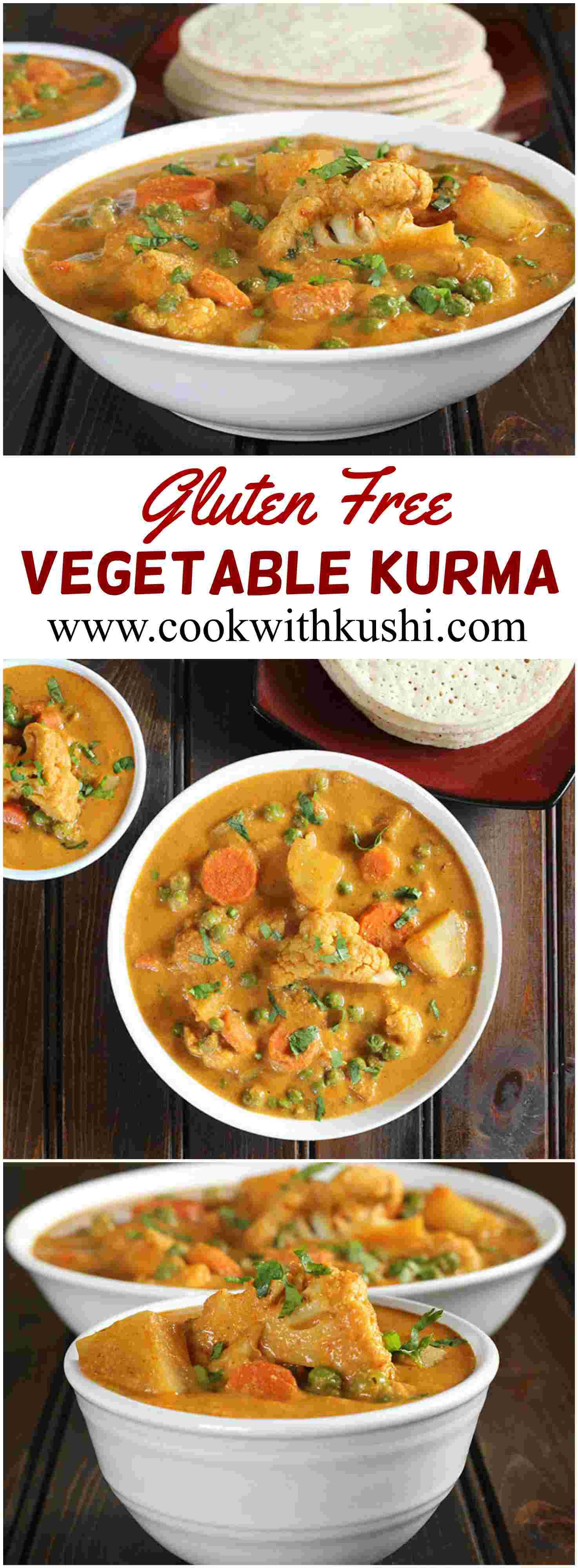 Vegetable Kurma is a spicy and delicious dish prepared using vegetables of your choice and aromatic spices. This dish is a perfect accompaniment for Indian breads like naan, roti or any varitiey of dosa. @bhg @feedfeed @buzzfeedfood #lunch #dinner #vegetable #Indian  #glutenfree #healthy #Kurma #korma #curry #spicy