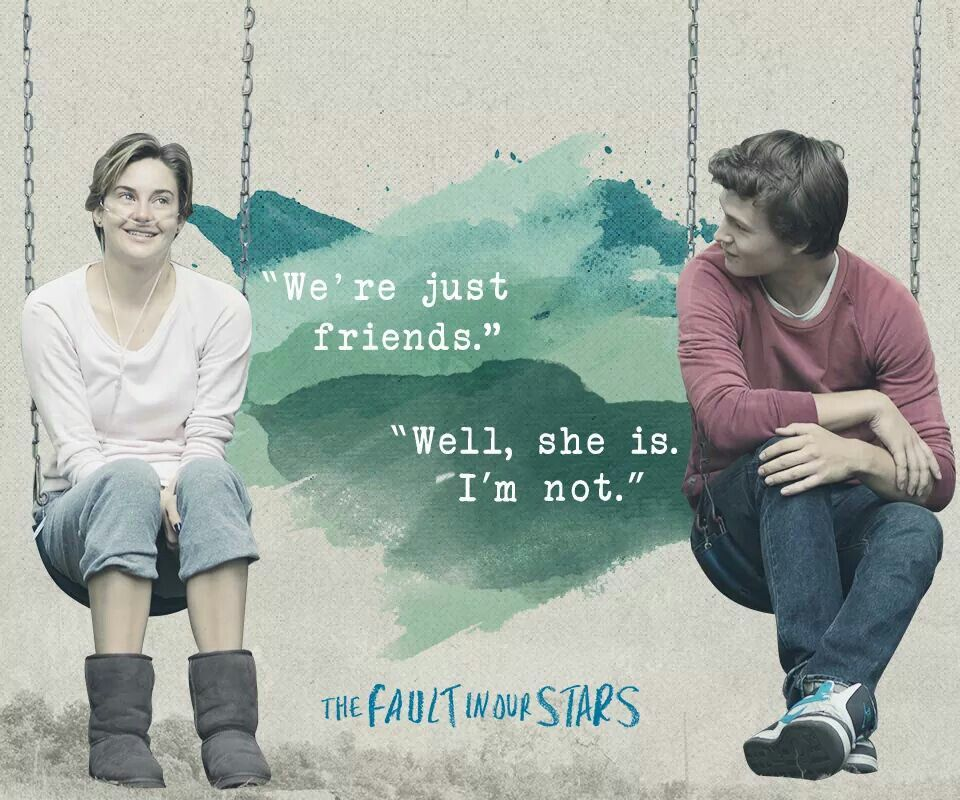 Pin by gracie😗 ️🥺 on The fault in our stars   The fault in ...
