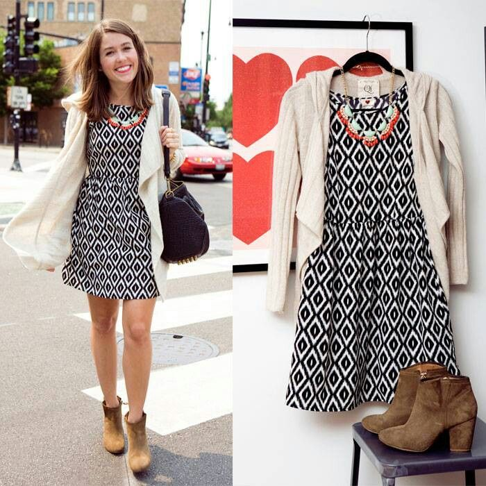 dfcd05e8878 TJ Maxx not feeling the shoes but love the dress cardigan combo | TJ ...