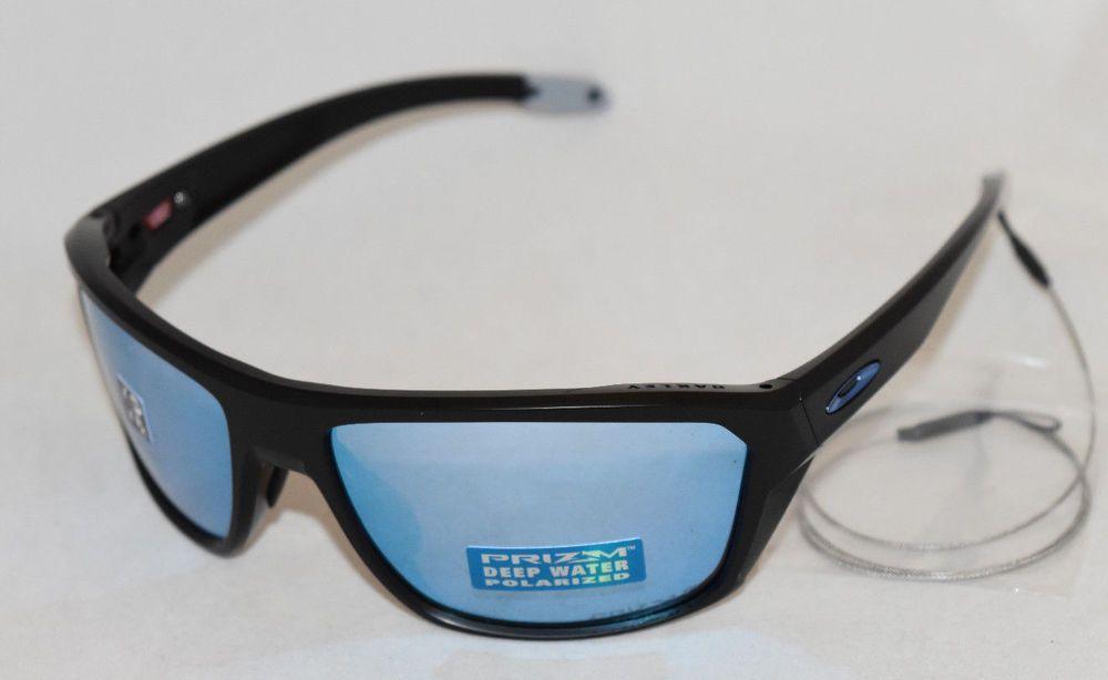 047ce8b3875 eBay  Sponsored NEW OAKLEY SPLIT SHOT OO9416-0664 MATTE BLACK W  PRIZM DEEP  H2O POLARIZED LENS