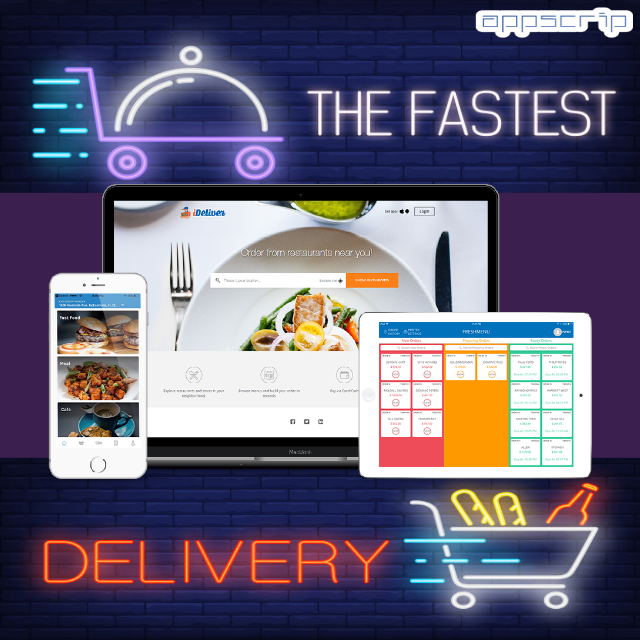Postmates Clone Start your own Uber for food delivery with