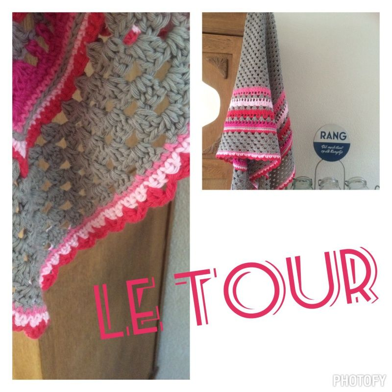 La Tour, patroon omslagdoek