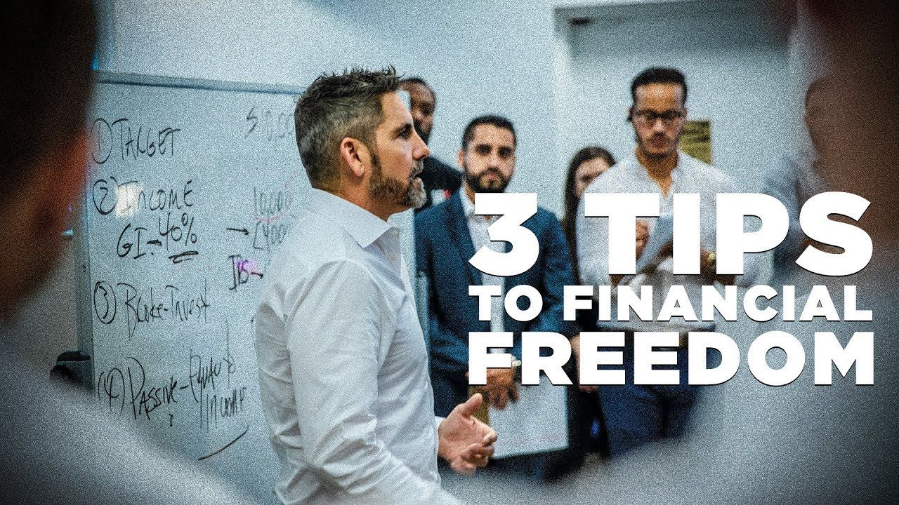 3 tips to financial freedom grant cardone grant
