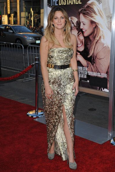 Drew Barrymore Evening Dress - Drew Barrymore Clothes - StyleBistro