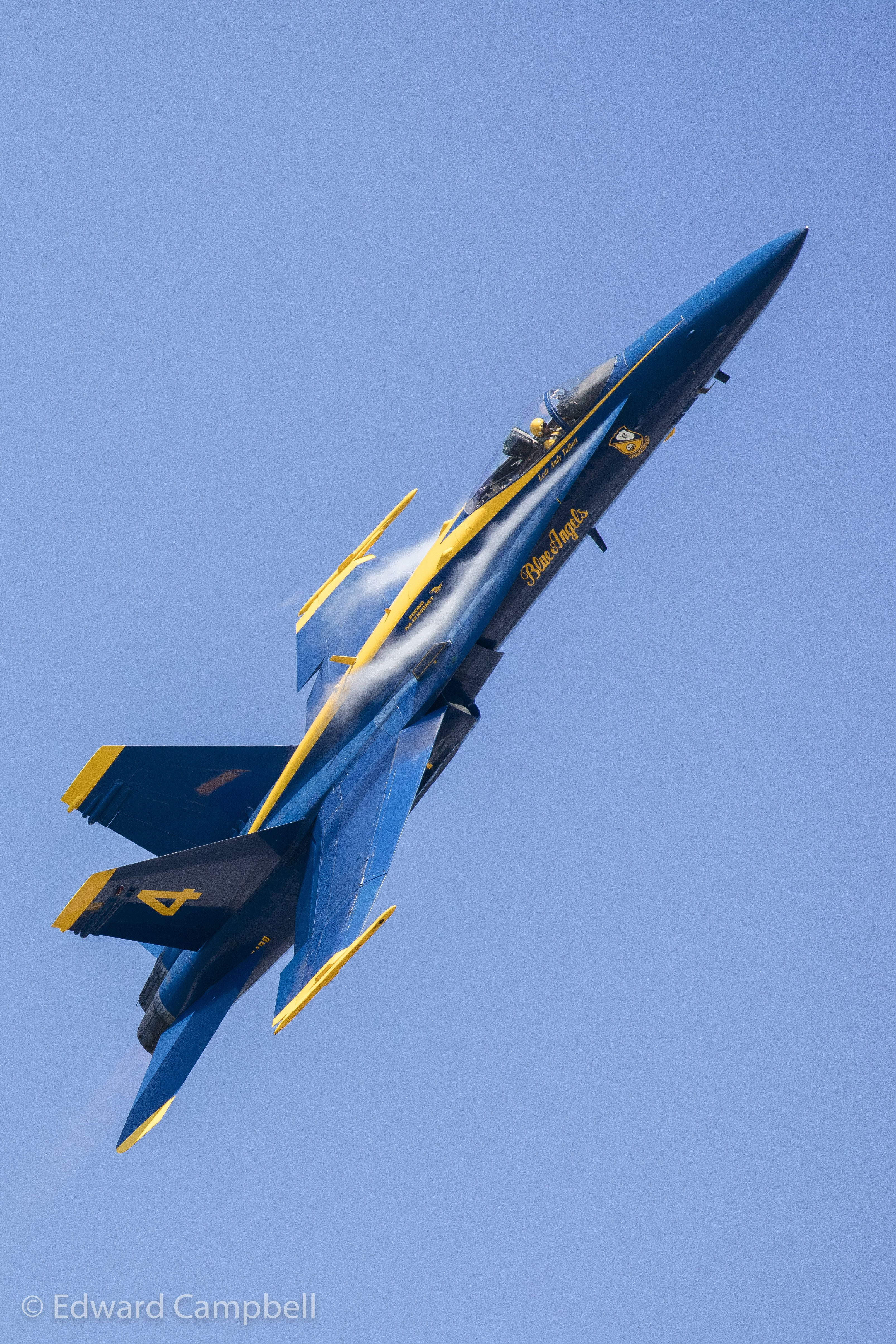 U.S. Navy Blue Angels perform at the 2016 Cleveland