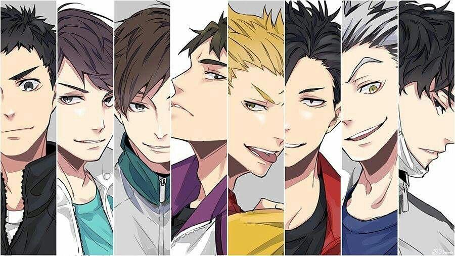 Team Captains Haikyuu Haikyuu Anime Haikyuu Characters Haikyuu Fanart