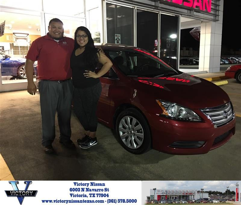 Victory Nissan Victoria Tx >> Congratulations Payton On Your Nissan Sentra From Eduardo