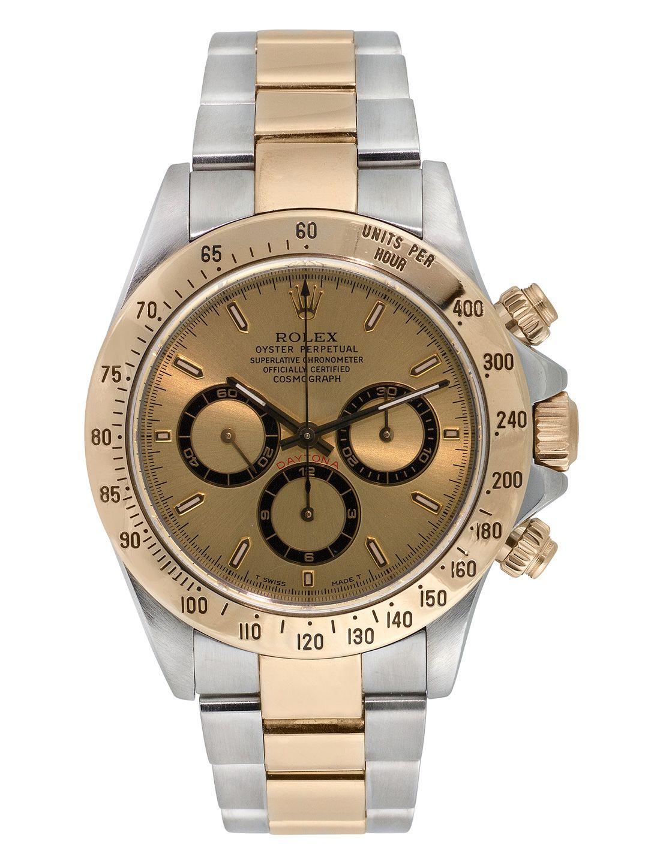 Rolex TwoTone Daytona Watch, 40mm Rolex watches, Rolex